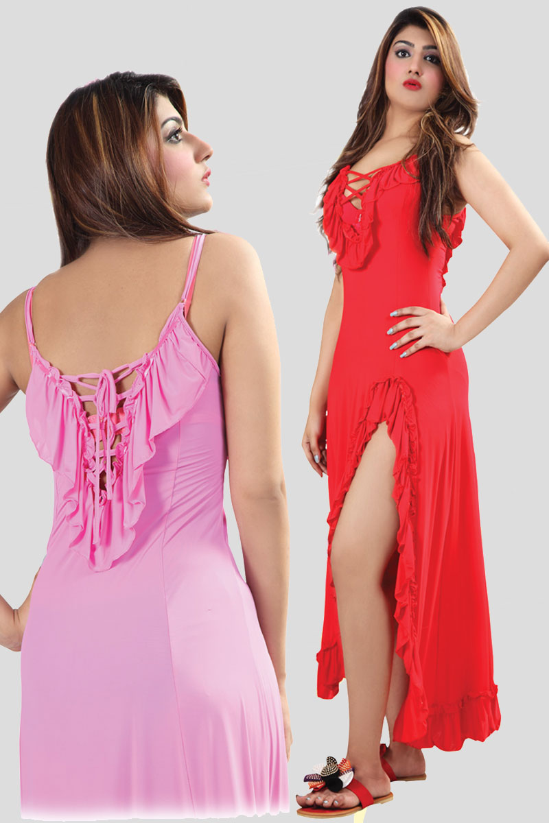 c1d1f91407 Flourish Romantic FL-023 Nighty for women buy - Bodyfocus.pk