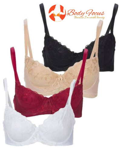 Pack of 3 Cup Lace Bra
