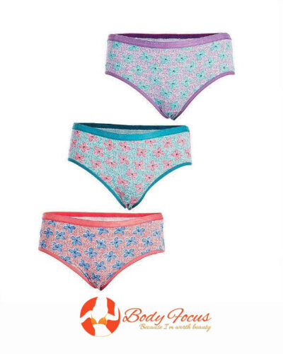 Pack of 3  Flora Panty