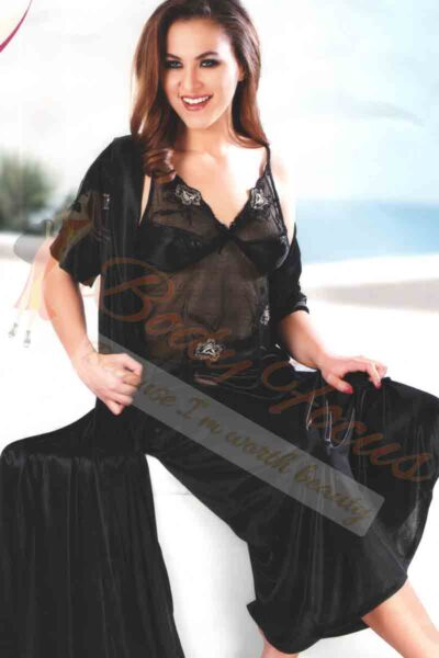 Black Premium Romantic Nighty BDF-4450